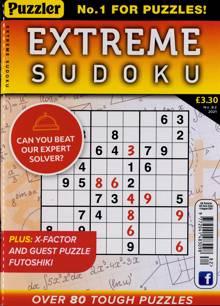 Extreme Sudoku Magazine NO 82 Order Online