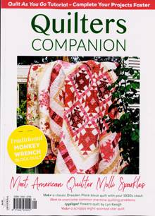Quilters Companion Magazine Issue N108