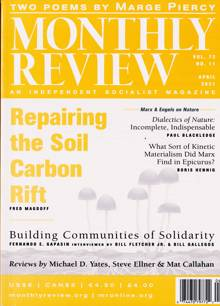 Monthly Review Magazine Issue 04