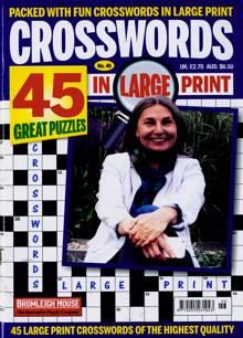 Crosswords In Large Print Magazine NO 46 Order Online