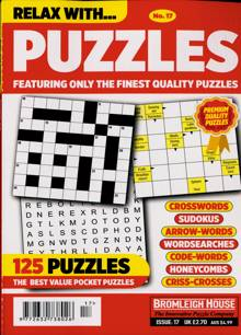 Relax With Puzzles Magazine NO 17 Order Online
