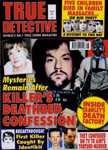 True Detective Magazine AUG 21 Order Online