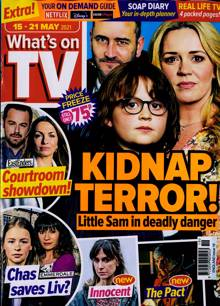 Whats On Tv England Magazine 15/05/2021 Order Online