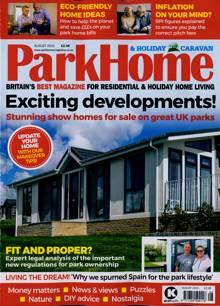 Park Home & Holiday Caravan Magazine AUG 21 Order Online