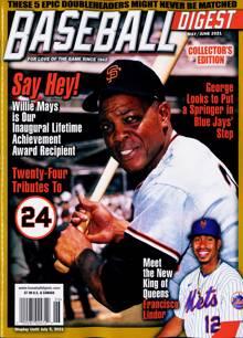 Baseball Digest Magazine MAY/JUN 21 Order Online
