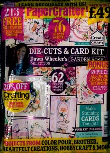 Papercrafter Magazine Issue NO 161