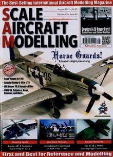 Scale Aircraft Modelling Magazine Issue AUG 21