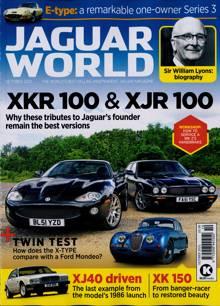 Jaguar World Monthly Magazine Issue OCT 21