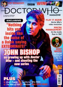 Doctor Who Magazine NO 569 Order Online