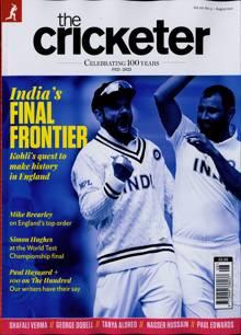 Cricketer Magazine AUG 21 Order Online
