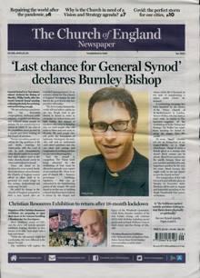 Church Of England Newsp Magazine 23/07/2021 Order Online