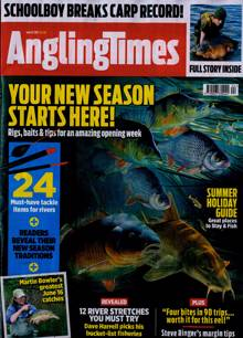 Angling Times Magazine 15/06/2021 Order Online