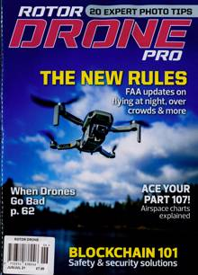 Rotor Drone Magazine JUN-JUL Order Online