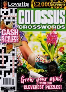 Lovatts Colossus Crossword Magazine NO 355 Order Online