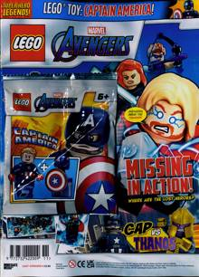 Lego Superhero Legends Magazine AVENGERS 6 Order Online