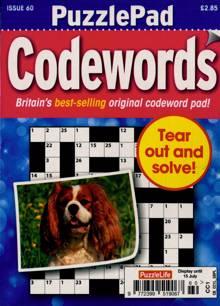 Puzzlelife Ppad Codewords Magazine NO 60 Order Online