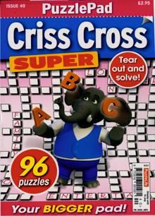 Puzzlelife Criss Cross Super Magazine NO 40 Order Online