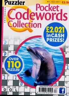 Puzzler Q Pock Codewords C Magazine NO 163 Order Online