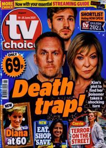 Tv Choice England Magazine NO 25 Order Online
