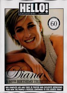 Hello! Special Collectors Edition Magazine DIANA 60 Order Online