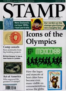 Stamp Magazine Magazine Issue AUG 21