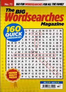 Big Wordsearch Magazine NO 72 Order Online
