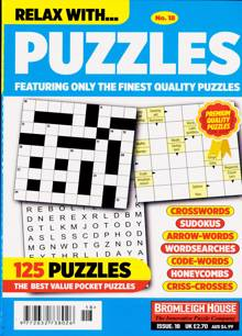 Relax With Puzzles Magazine NO 18 Order Online
