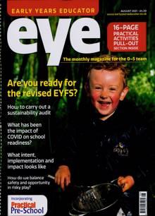 Early Years Educator Magazine Issue AUG 21