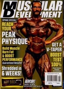 Muscular Development Usa Magazine MAY 21 Order Online