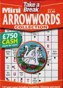 Tab Mini Arrowwords Coll  Magazine Issue NO 117