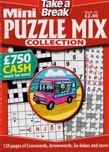 Tab Mini Puzzle Mix Coll Magazine Issue NO 129