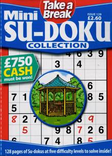 Tab Mini Sudoku Collection Magazine Issue NO 129