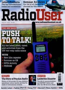 Radio User Magazine AUG 21 Order Online