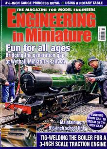 Engineering In Miniature Magazine Issue OCT 21