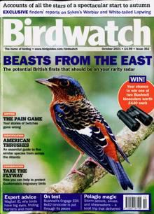 Birdwatch Magazine Issue OCT 21