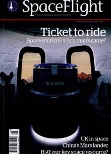 Spaceflight Magazine AUG 21 Order Online
