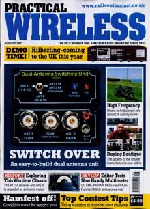 Practical Wireless Magazine AUG 21 Order Online