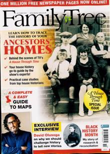 Family Tree Magazine OCT 21 Order Online