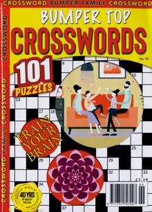 Bumper Top Crosswords Magazine NO 99 Order Online