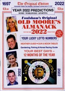 Old Moores Almanack Magazine 2022 (1) Order Online