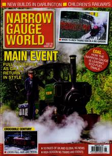 Narrow Gauge World Magazine Issue AUG 21