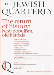 Jewish Quarterly Magazine 44 Order Online