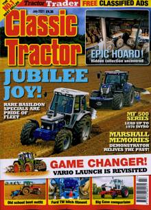 Classic Tractor Magazine JUL 21 Order Online