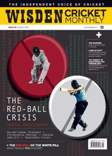 Wisden Cricket Magazine AUG 21 Order Online