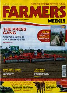 Farmers Weekly Magazine 30/07/2021 Order Online