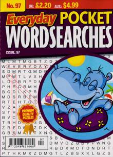 Everyday Pocket Wordsearch Magazine Issue NO 97