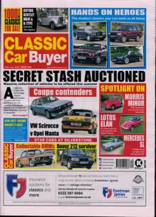Classic Car Buyer Magazine 28/07/2021 Order Online