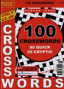 Brainiac Crossword Magazine NO 121 Order Online