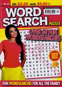 Wordsearch Puzzles Magazine Issue NO 62