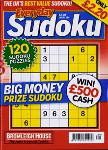 Everyday Sudoku Magazine NO 186 Order Online